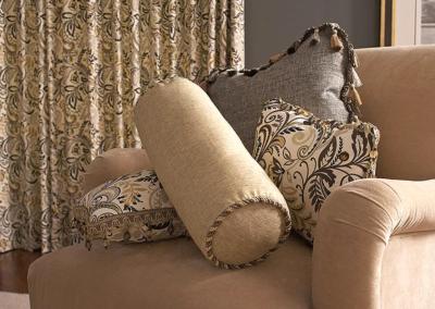 Custom Bedding and Draperies