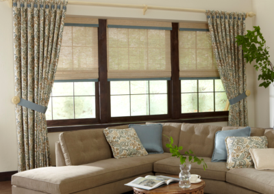 Roman Shades & Stationary Panels