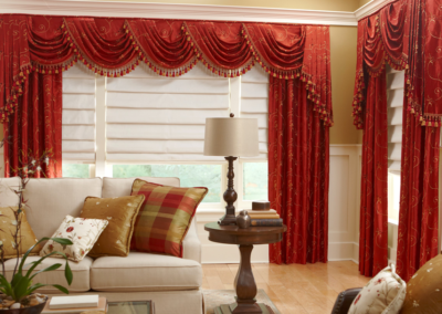 Valance with Swags & Cascades
