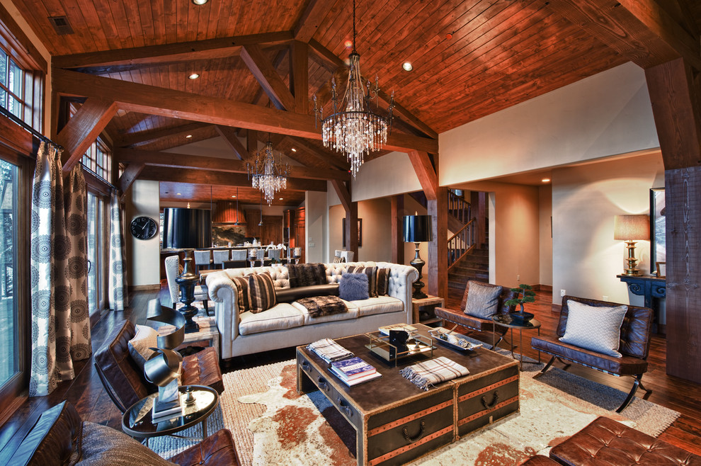alder-and-tweed-rustic-room-trunk-coffee-table-wooden-ceiling-planks-hide-interior-design-decor