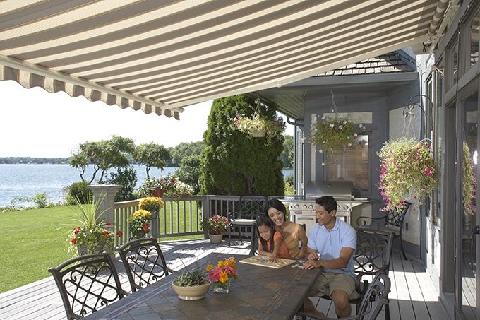 SunSetter Motorized Retractable Awnings in LA by Galaxy ...
