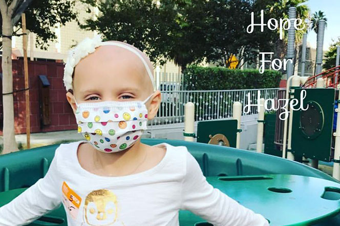 Hope for Hazel - Fighting Childhood Cancer