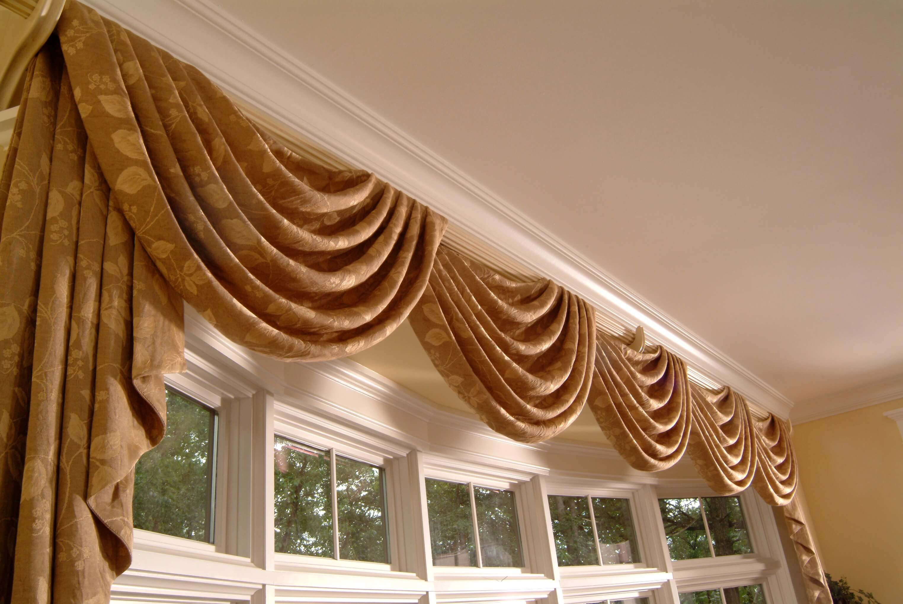 valance drapery nimbus valances t window treatments curtains and drapes fan stripe treatment ideas box