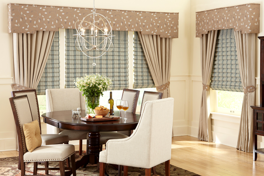 Custom Valances By Galaxy Draperies Los Angeles Ca
