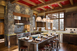 Contemporary Rustic Kitchen