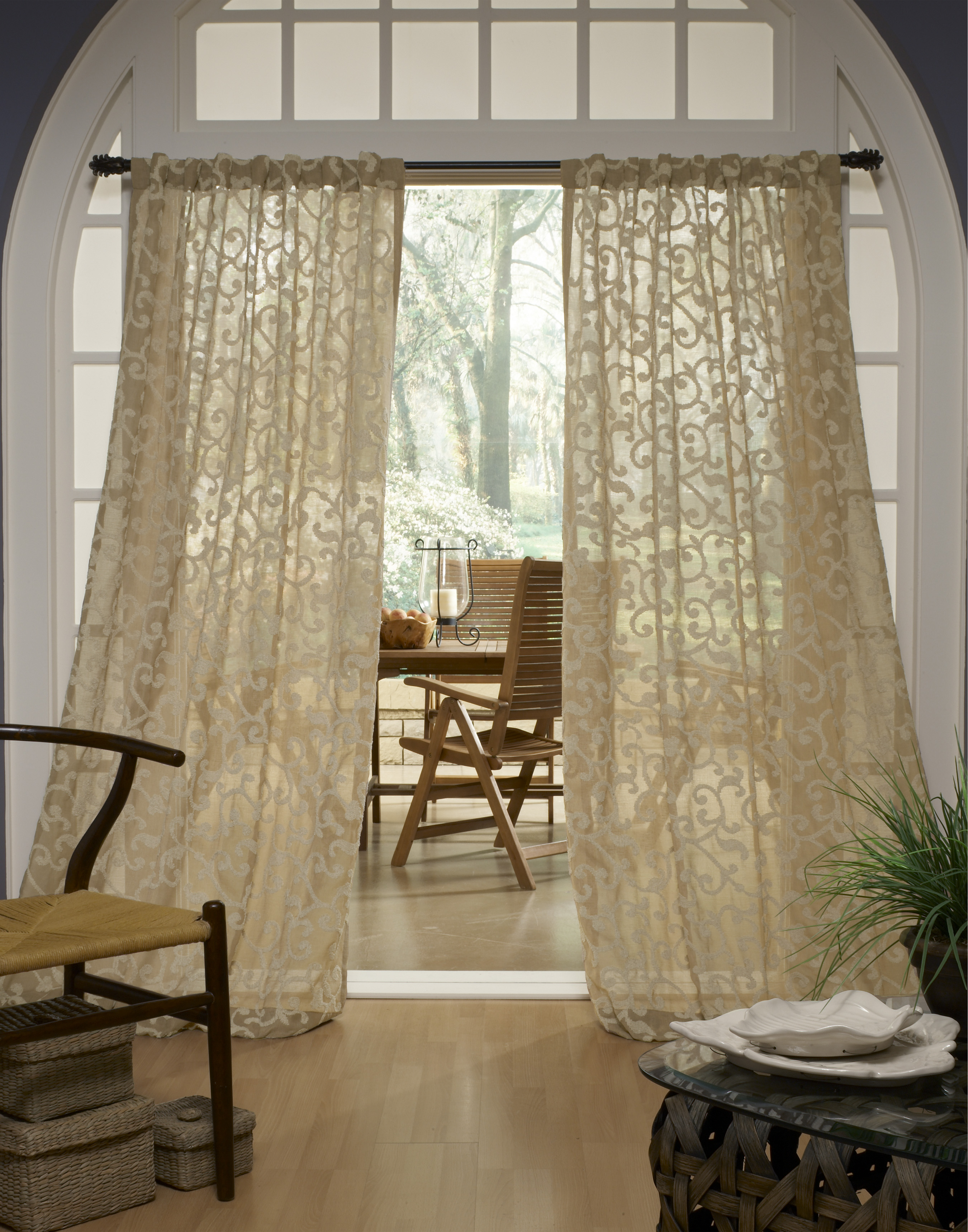 Drapery And Curtain Ideas: Window Treatments Los Angeles CA
