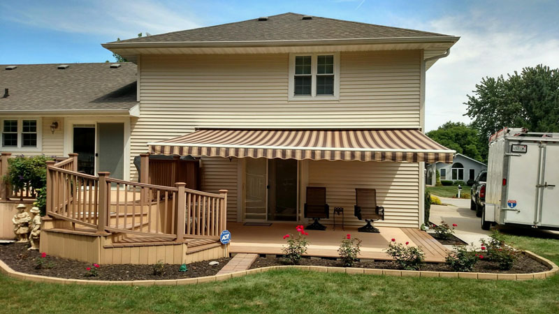 Sunsetter Motorized Retractable Awnings In La By Galaxy