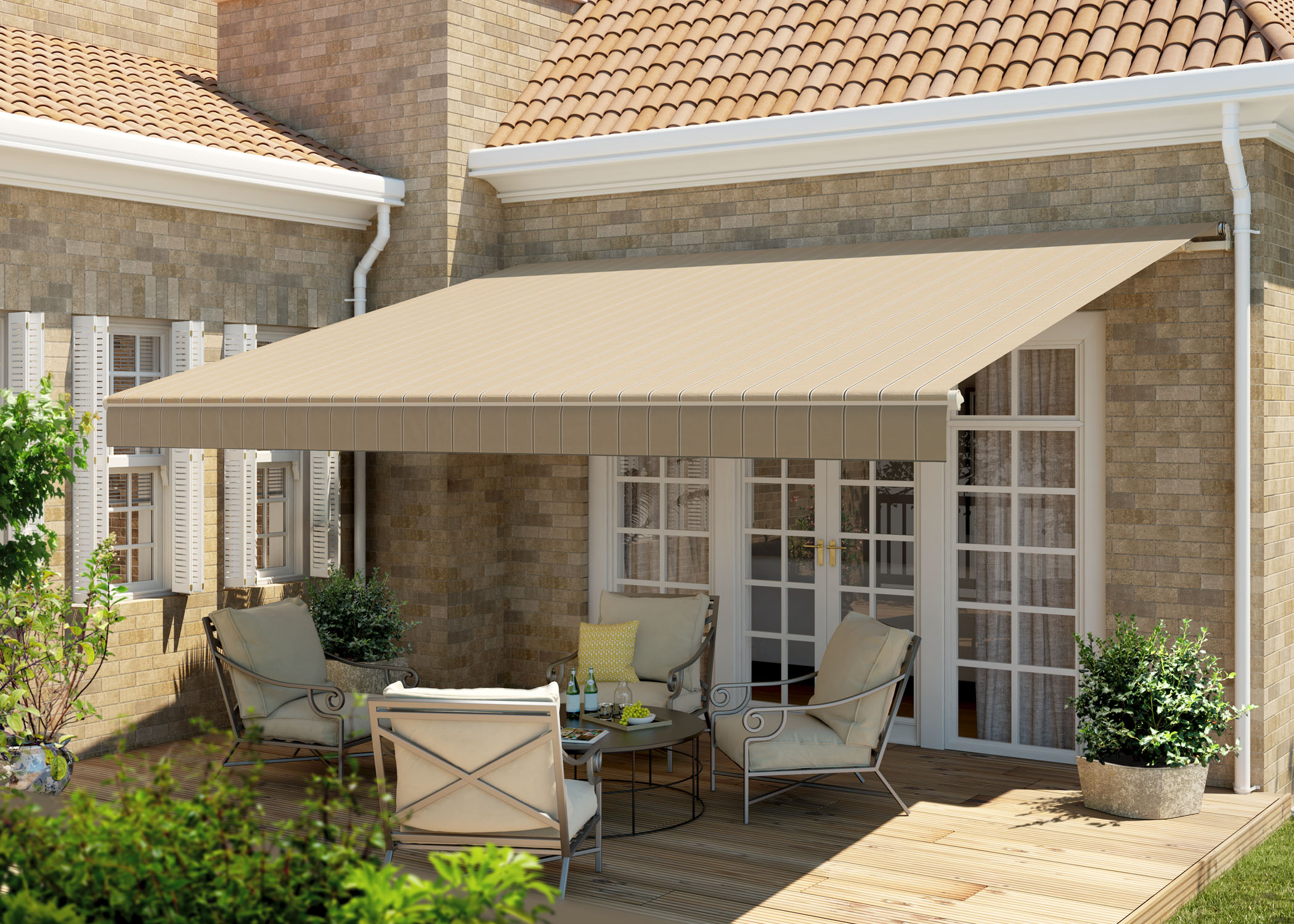 contractors blue s awnings sunsetter remodeling of a awning retractable installing benefits