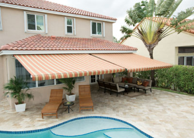 Graber awnings by Sunsetter are made in the USA.