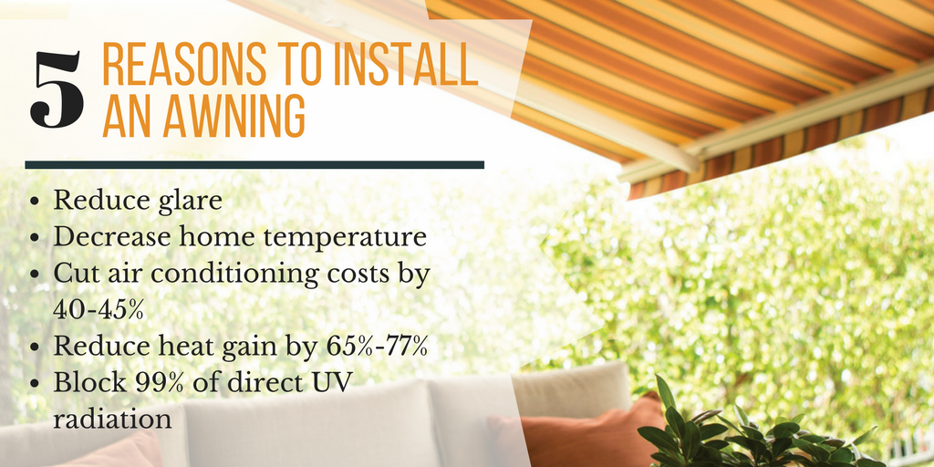 5 Reasons to Install an Awning