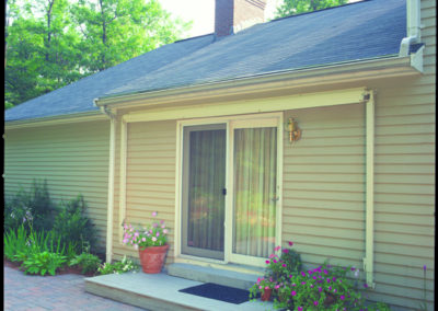 Closed awnings take up minimal space and draw little attention.
