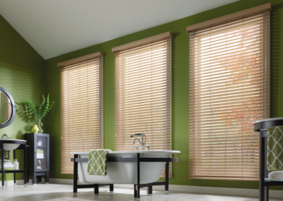 Depending on the styles you choose, plenty of light can still come through your blinds.