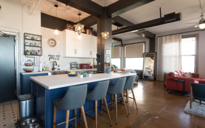 Galaxy Home Makeover: Renovated Loft in the Historic Higgins Building