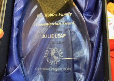 Robles Family Award