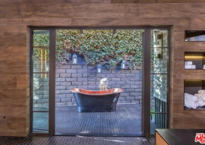 After - Outdoor Tub