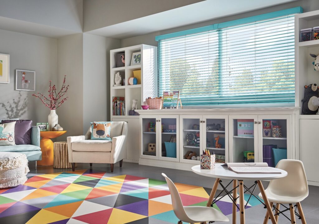 Custom Window Coverings Are Best for Children's Rooms